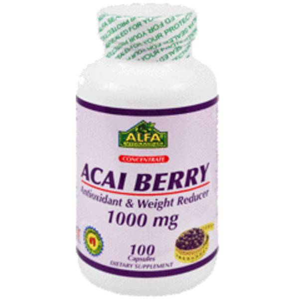 Acai Berry 1000 mg 100 capsulas