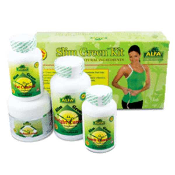 Alfa Vitamins® Slim Green Kit