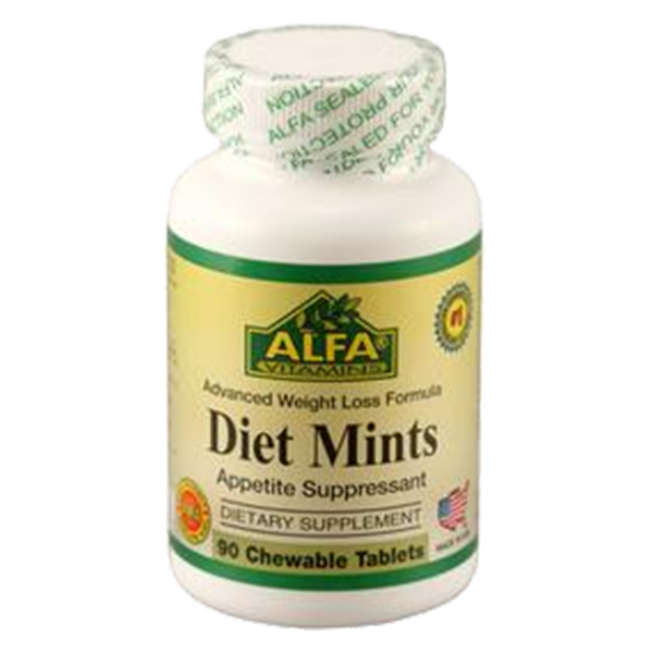 Diet Mints 90 chewable tablets