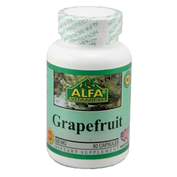 Grapefruit 500 mg 60 capsules